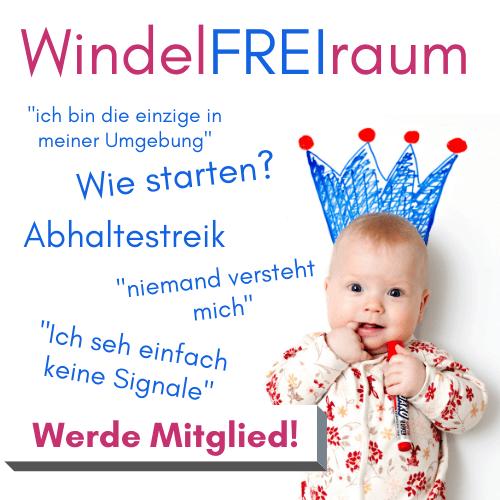 WindelFREI WindelFREIraum Mitgliederbereich Baby Krone